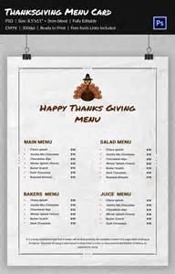 thanksgiving menu template printable 77 thanksgiving templates free premium templates