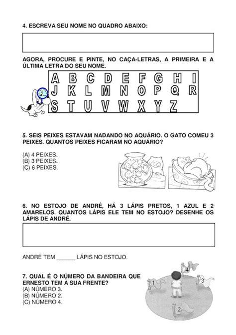 Atividade para imprimir: 30 MODELOS DE PROVA PRONTOS PARA