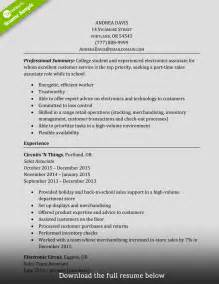 A Sle Resume by How To Write A Sales Associate Resume Exles Included