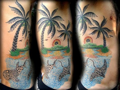 beach tattoos for men images designs