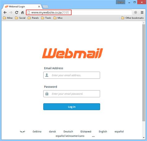 silvia webmail co za mail webmail access email via internet website web designs