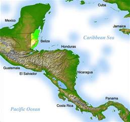 where is america located on the map where is belize geography and map of belize