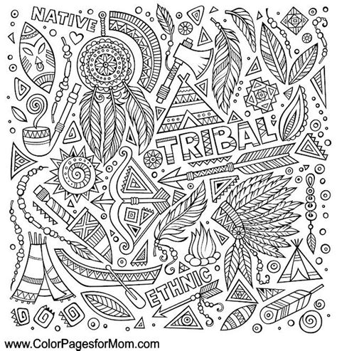 indian chief coloring page coloring page with native american indian chief headdress