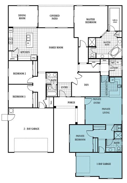 The Olympus Plan 2935 I Think This Plan Is The One I Multi Generational House Plans