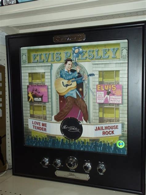 light up posters for concerts elvis in concert collector series poster light up am fm radio