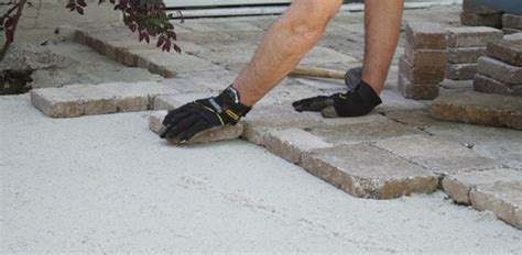 How To Lay A Patio Base by Tips For Laying A Paver Patio Today S Homeowner