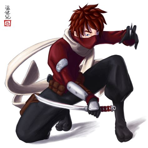 anime ninja drawn boy anime ninja pencil and in color drawn boy
