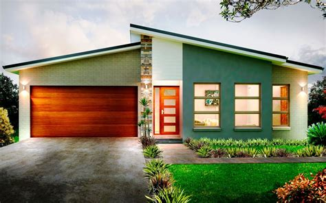one level contemporary house plans