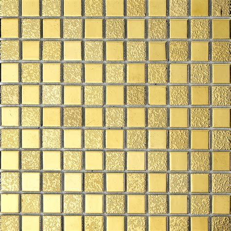 wholesale porcelain bathroom wall interior decorative gold plated tile mosaic kitchen backsplash