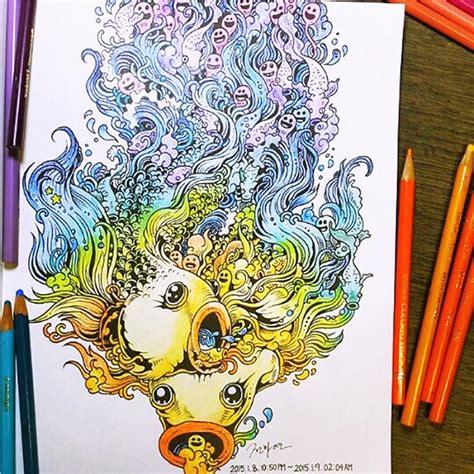 doodle untuk dinding kamar cara desain buku mewarnai untuk orang dewasa doodle