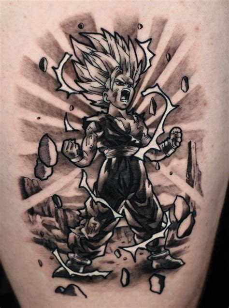 gohan tattoo overview for oschilles