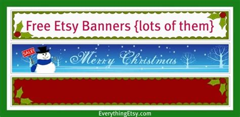 etsy banner templates jewelry everything etsy directory everythingetsycom