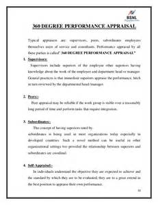 Employee Performance Appraisal Report Sample Project Report On Performance Appraisal Of Bsnl