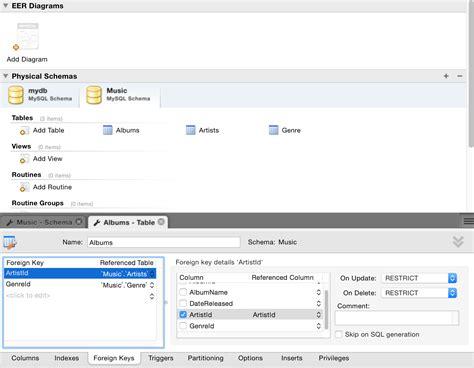cara membuat database menggunakan mysql workbench create database diagram using mysql workbench gallery