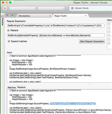 xamarin binding tutorial macaw how to share xamarin forms data binding code