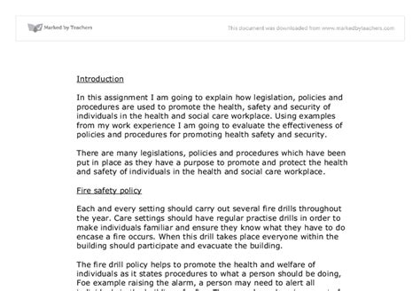 Health And Social Care Essays by Essay On Safety In The Workplace A Size Workplace Safety Poster Encouraging Workers To Think