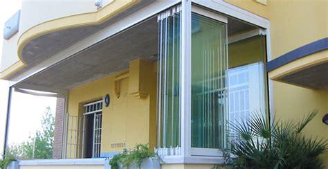 chiusura terrazzo con veranda photogallery balconi e terrazzi