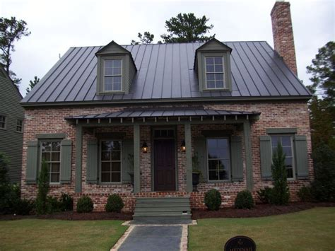 gray craftsman house  metal roof google search