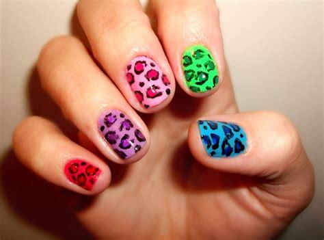 Easy Nail Art Print   cute leopard print nail art