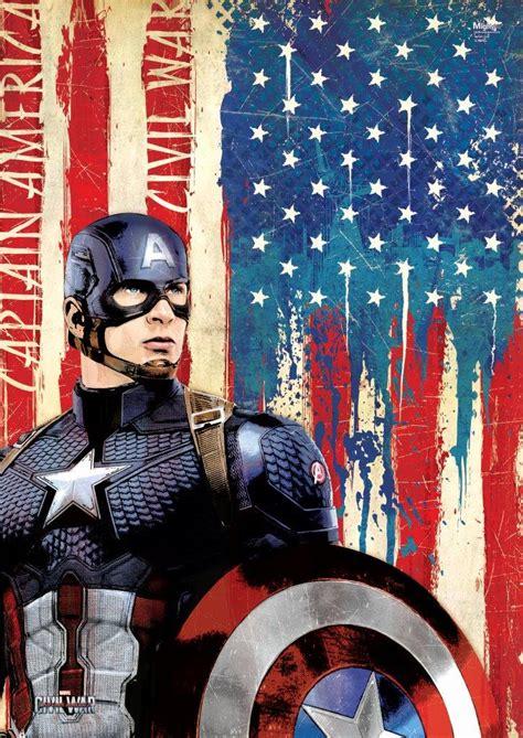 Captain America Vintage 20 Oceanseven marvel s captain america civil war cap mightyprint wall
