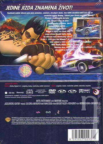 film hot wheels acceleracers dvd film hot wheels acceleracers štart