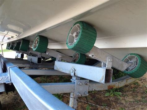 do you grease boat trailer rollers about to replace my trailer s wobble rollers fishing