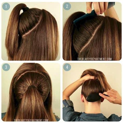 great tips  creating  perfect voluminous ponytail