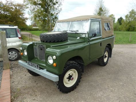land rover 1970 1970 land rover series iia delivered to paul in