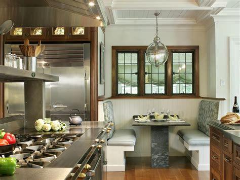 kitchen booth furniture 12 ways to make a banquette work in your kitchen hgtv s decorating design hgtv