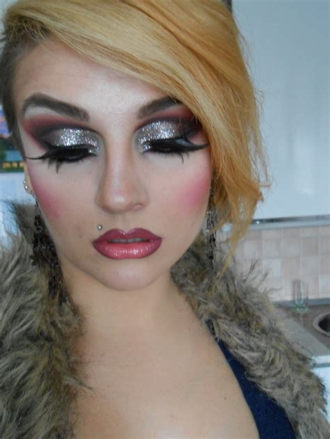 ugly crossdresser makeup 17 best images about drag on pinterest purple eyeshadow