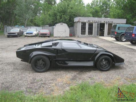 Fiero Kits Lamborghini 1986 Lamborghini Pontiac Fiero Kit Car V 6 5 Speed