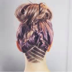 layered hairstyles with at nape of neck 50 women s undercut hairstyles to make a real statement