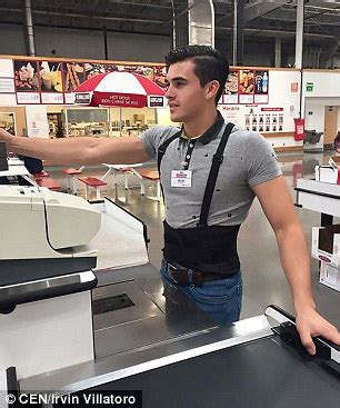 Cashier At Costco by Costco Worker 21 Stocks Up On Adoring Fans Daily Mail