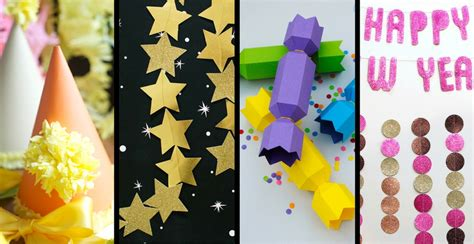 new year paper decorations 14 new year s decorations paper crafts the paper