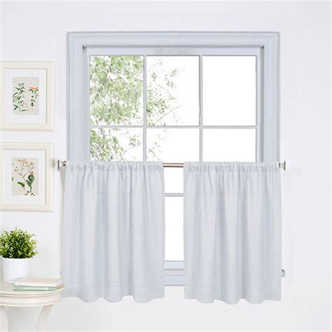 white kitchen curtains valances cameron kitchen curtains white boscov s