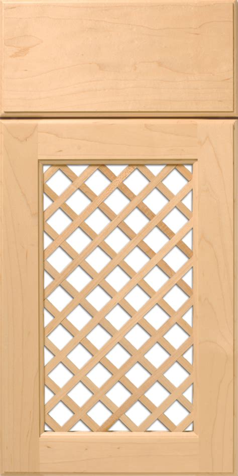 Lattice Cabinet Doors Cabinet Door With Wood Lattice Insert Walzcraft