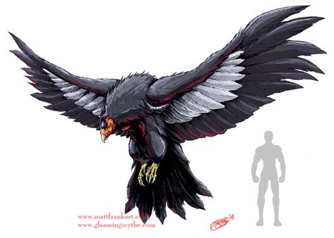 giant condor concept by kaijusamurai on deviantart