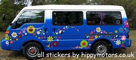 Hippie Car Stickers Uk