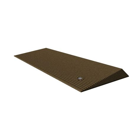 Ez Mat by Ez Access 1 5 In Transitions Angled Entry Mat Taemhb 1 5