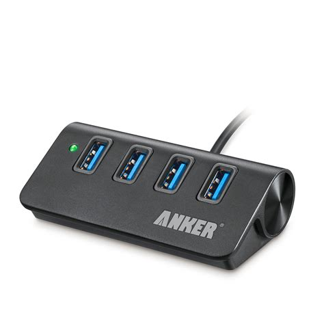 Usb Hub 3 0 4port anker aluminum 4 port usb 3 0 hub