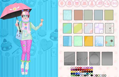 design a doll game kawaii fashion game lolgames