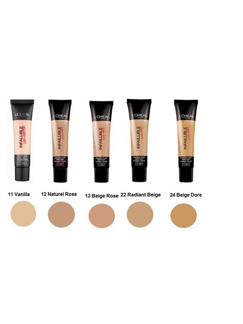 Loreal Foundation Infallible loreal infallible 24h matte foundation