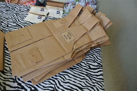How To Make A Paper Bag Vest - safari vests from paper bags safari birthday