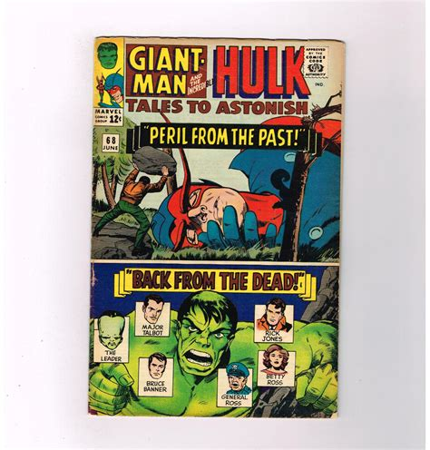How To Find From The Past Tales To Astonish 68 Quot Peril From The Past Quot Grade 6 0 Silver Age Find