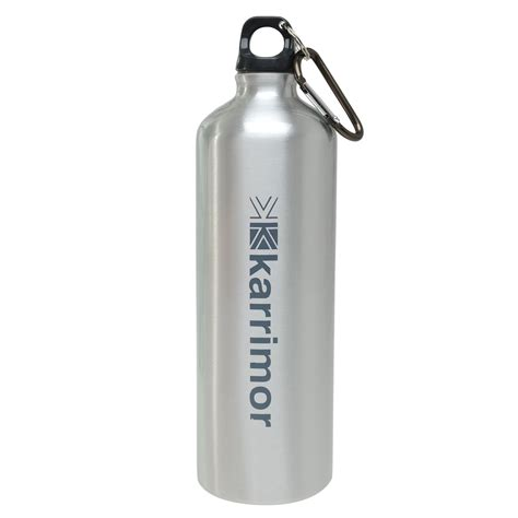 aluminium bottle karrimor karrimor aluminium drinks bottle 1 litre