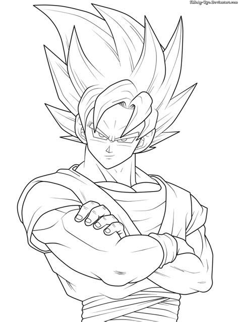 Colorir Goku de Dragon Ball Z - Muito Fácil - Colorir e Pintar