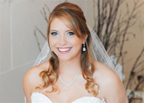 Hochzeitsfrisuren Hochgesteckt by Hochzeitsfrisur Halb Hochgesteckt Brautfrisuren