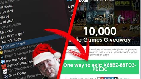 Free Steam Codes Giveaway 2017 - 10 000 steam indie games giveaway february 2017 youtube
