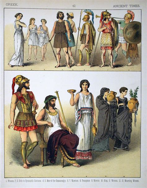 ancient greek costume history pictures showing how to recreate a file ancient times greek 012 costumes of all nations
