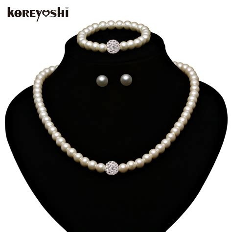 how to make fashion jewelry accessories pearl jewelry sets fashion imitation